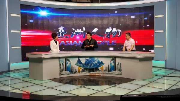 Interviewed By ASIAN PEOPLE, a Financial News TV Channel in China