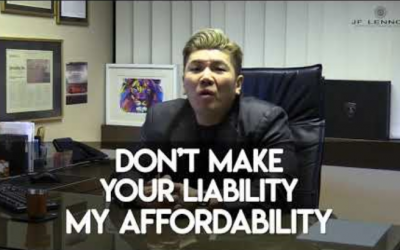 Don't Make Your LIABILITY, My AFFORDABILITY